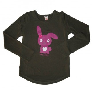Bunny top long sleeve olive