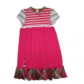 Funky dress - cerise