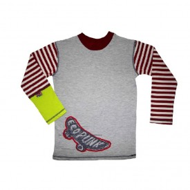 Longsleeve skate top - grey