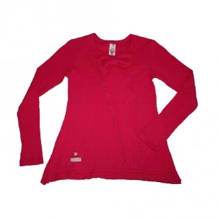 Tunic cerise