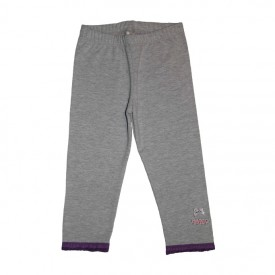leggings midcalf - grey