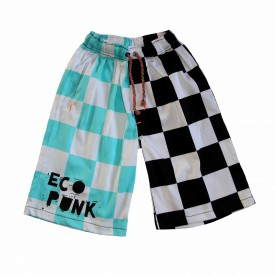 Boys chequered shorts low res