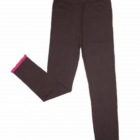 Girls aubergine leggings low res