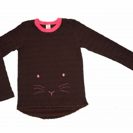 Girls brown long sleeve low res