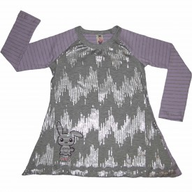Girls lilac & grey long sleeve low res