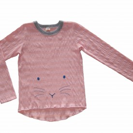 Girls pink long sleeve low res