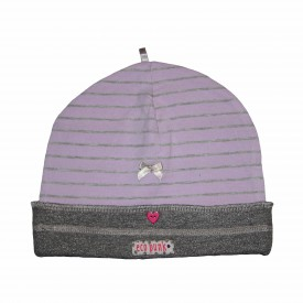 Lilac & grey beanie low res
