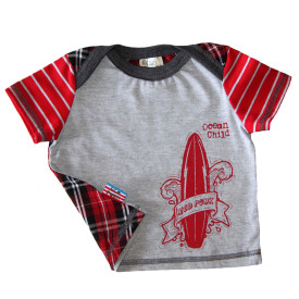 Baby boy grey T shirt
