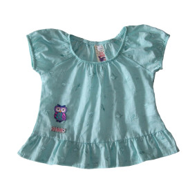 Baby girl turquoise blouse