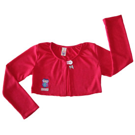 Girls cerise cardigan