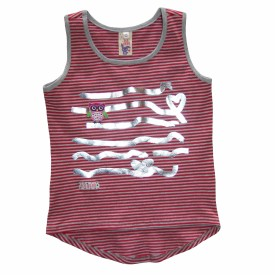 girls stripe vest Eco Punk