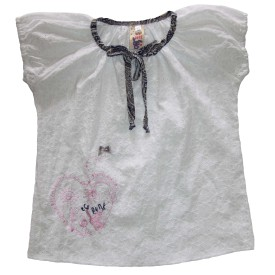 Eco Punk boho blouse white