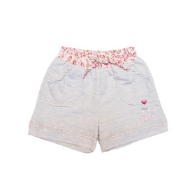 Eco-Punk Girls Shorts Grey