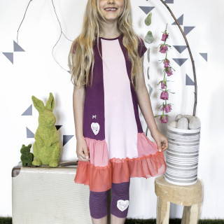 Eco-Punk Dress Berry