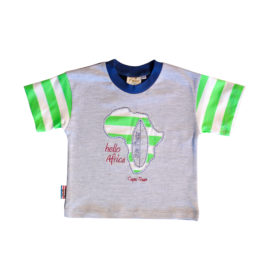 Boy & Baby Boy T shirt Grey