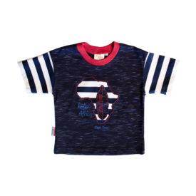 Boy & Baby Boy T shirt Navy