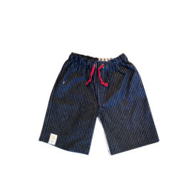 Boys Denim Shorts Dark Stripe