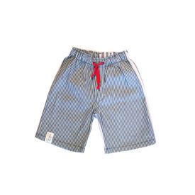 Boys Denim Shorts Light Stripe
