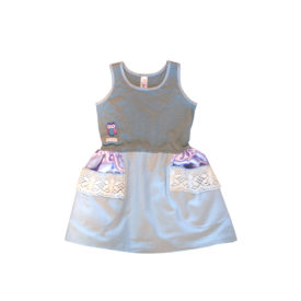 Girls Dress Sage
