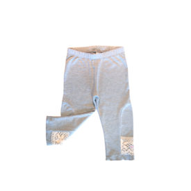 Girls Leggings Grey