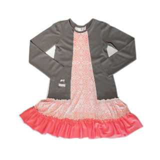 Girls dress Mink