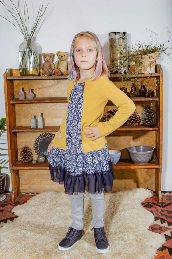 Girls dress Mustard