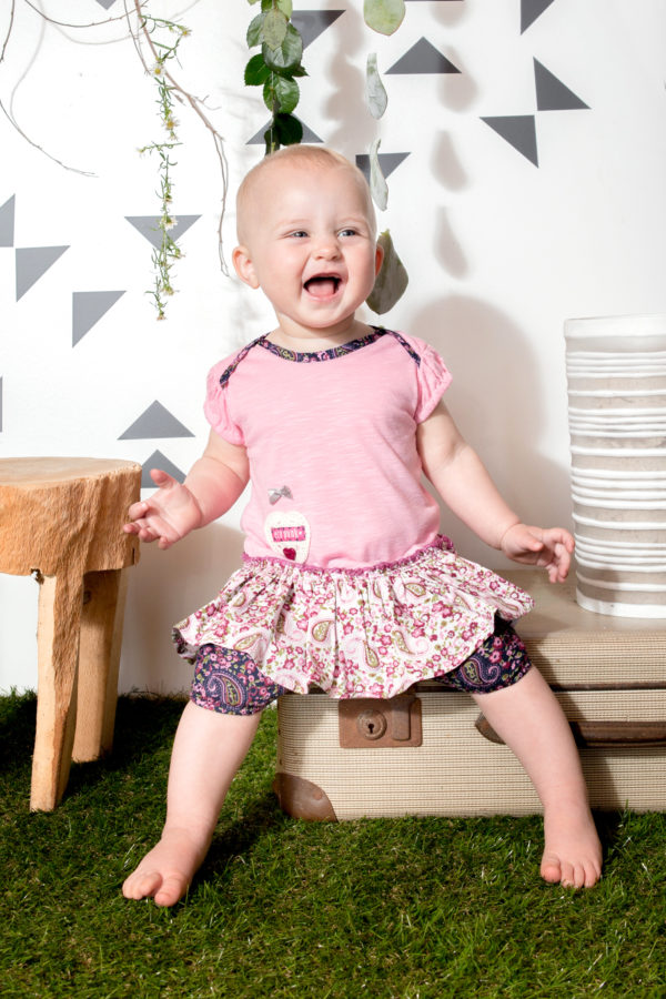 Eco-Punk Baby Dress Ballet