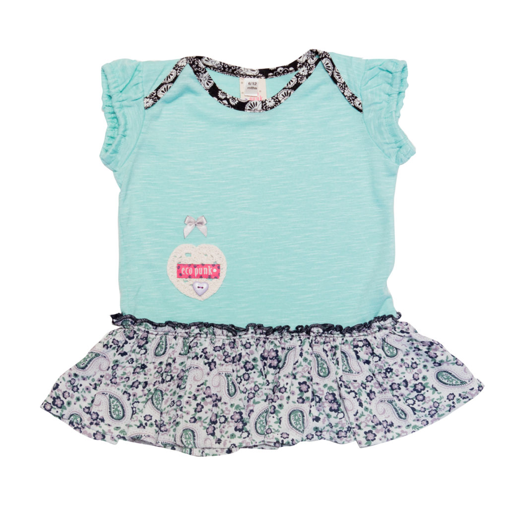 Baby Dress MINT Eco Punk